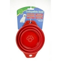 Collapsible bowl 1ltr animal instinct