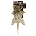 """All For Paws Roadkill Rat With Squeaker 14"""""""