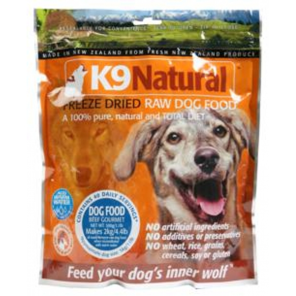 K Natural Freeze Dried Raw Dog Food Reviews