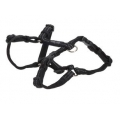 Buster gear Nylon H harness black 20mm x 50-75mm