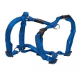 Buster gear Nylon H harness blue 25mm x 75-100mm