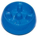 Dogit Anti-gulping Bowl Medium Blue 600ml