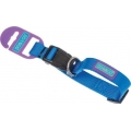 Dog & Co Blue Adjustable Collar 1 Inch X 18 Inch - 24 Inch 2.5 X 45 - 60cm Hem & Boo