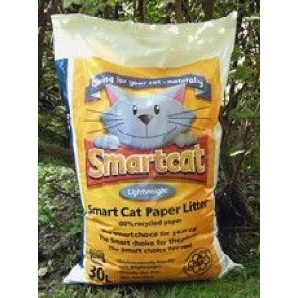 Recycled Paper Litter For Cats Granules
