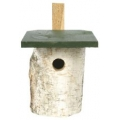 CJ Birch Log Nest Box