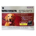 Ancol Nylon Training Lead 6 foot 3/4""
