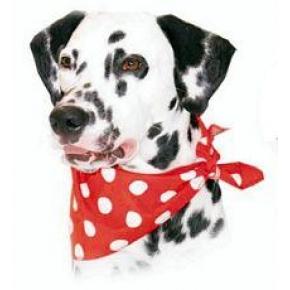 Cosipet Red Polka Dot Bandana For Dogs