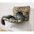Leopard Print Wide Cradle Cat Bed - Danish Design Kumfy Kradle