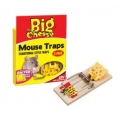 S.T.V Big Cheese baited R.T.U mouse trap twin 2 pack