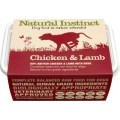 Natural Instinct Natural Chicken & Lamb Dog 2 X 500g Frozen
