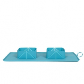Easypets RollaBowl Turquiose