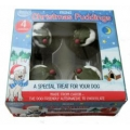 Hatchwell Mini Carob Xmas Pudding For Dogs 4 Pack