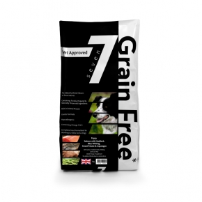 Seven Grain Free Puppy With Salmon Haddock & Blue Whiting Dog Food 2kg