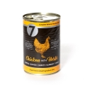 Seven Grain Free Adult Chicken With Herbs Wet Food For Dogs 400g