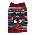 Sotnos Flashing Reindeer Jumper Medium