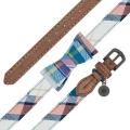 Sotnos Puppy Bow Collar Brown 1.0 X 28cm