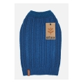 Sotnos Teal Cable Sweater Small
