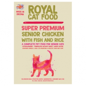Royal Cat Food Super Premium Senior 7 + 2kg