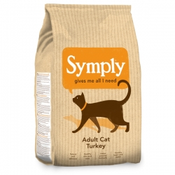 Symply Cat Adult Turkey Cat Food 1.5kg
