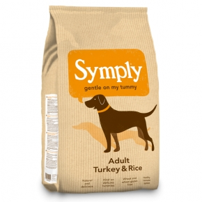 Symply Adult Turkey & Rice Dog Food 2kg