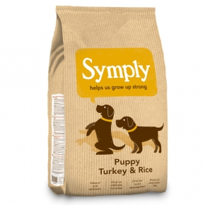 Symply Puppy Turkey & Rice Dog Food 2kg