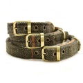 Tweed Dog Collars