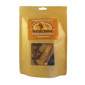 Veni-dog Venison Marrow Bones Twin Pack 300g