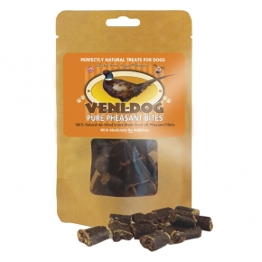 Veni-dog Pure Pheasant Bites Dog Treats 60g