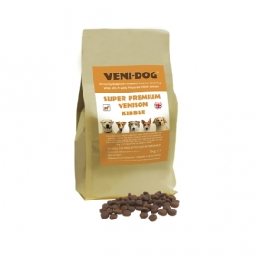 Veni-dog Super Premium Venison Kibble Complete Balanced Dog Food 2kg
