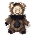 Danish Design Wilbur The Wild Boar Dog Toy 11""
