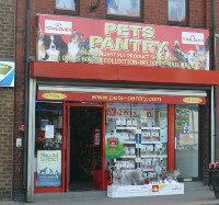 Pets Pantry Warrington Shop Front